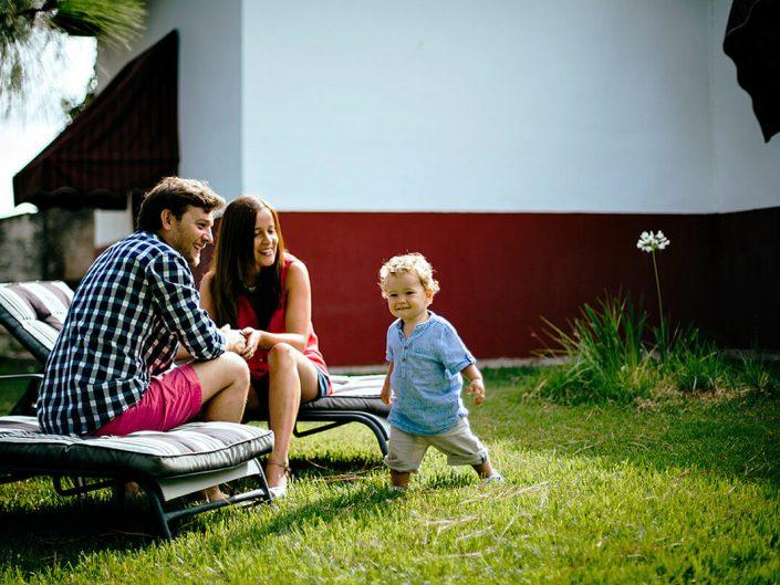 fotografía de familias