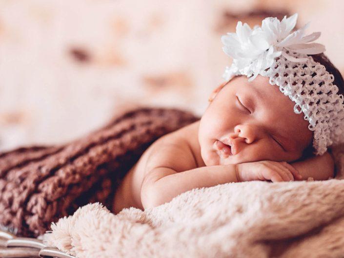 Recién nacida: Noemí