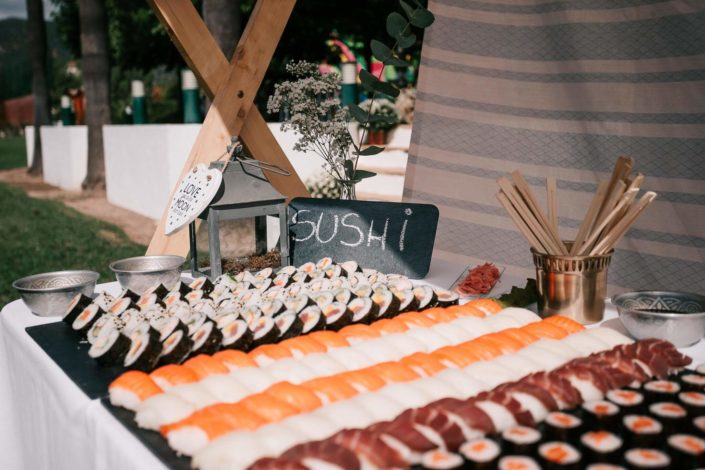 Buffet-sushi