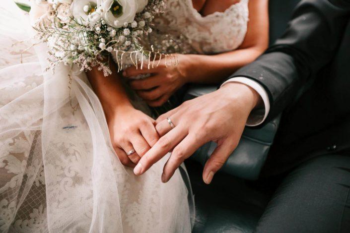 Alianzas recién casados