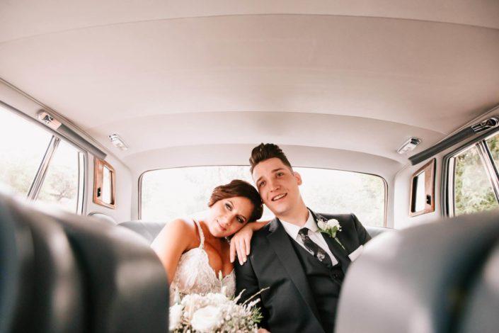 La batukada ameniza la boda de Juan Carlos y Azahara