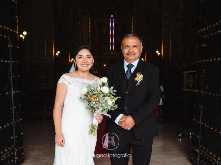 Cynthia y su padre