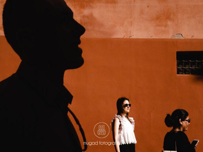Preboda Alfonso y Rosa por las calles de Granada