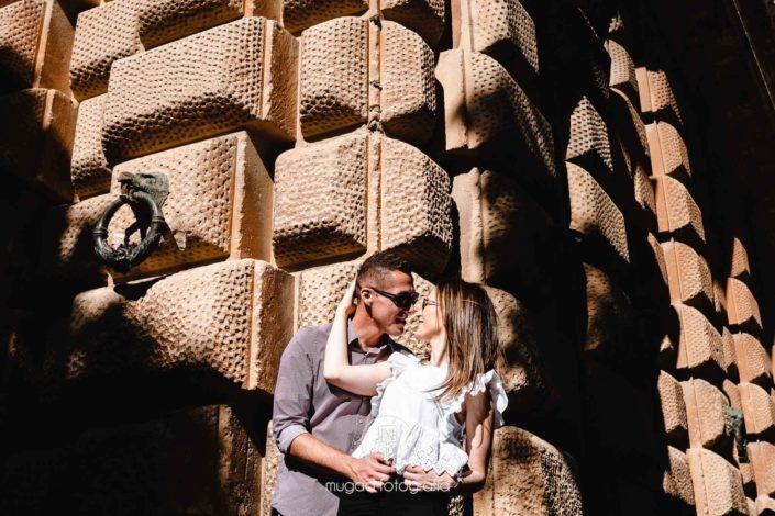 Preboda pared Alhambra