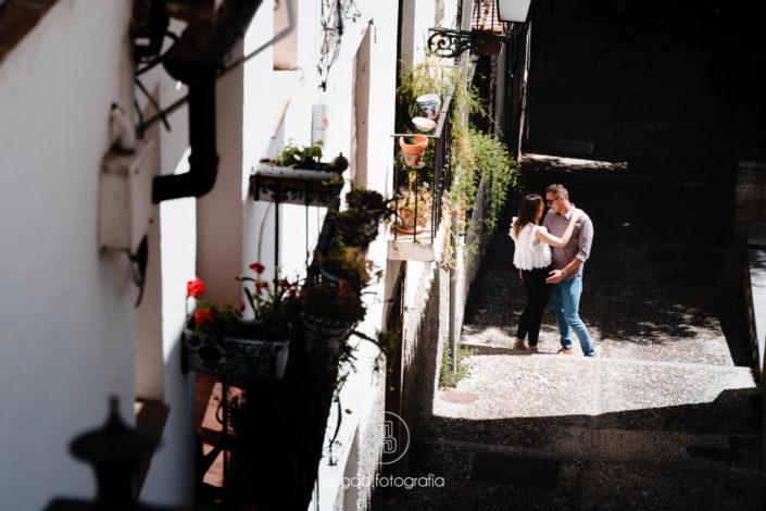 Preboda calles de Granada