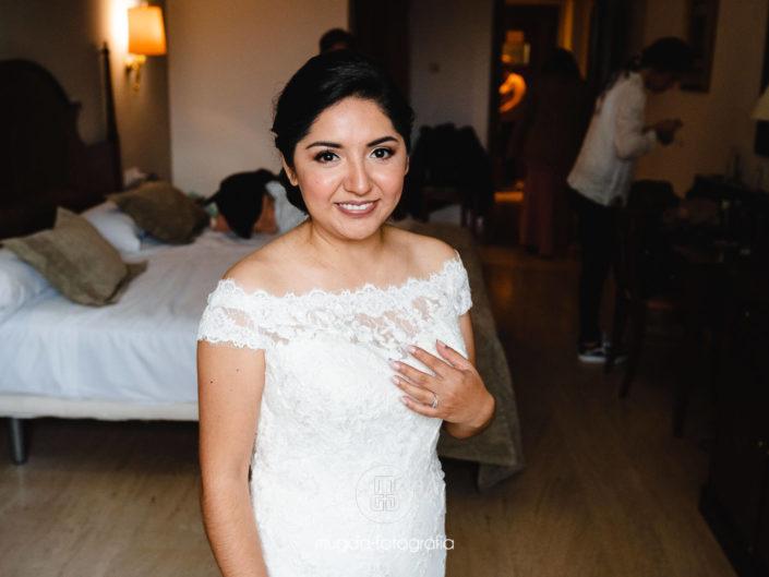 Preparativos boda Cynthia