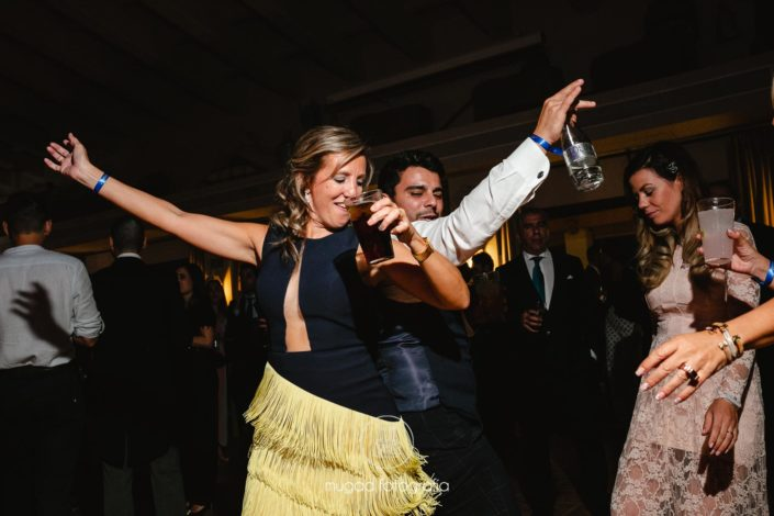 Barra libre boda