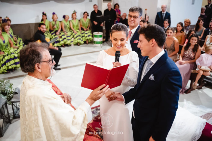 Lectura novia ceremonia religiosa